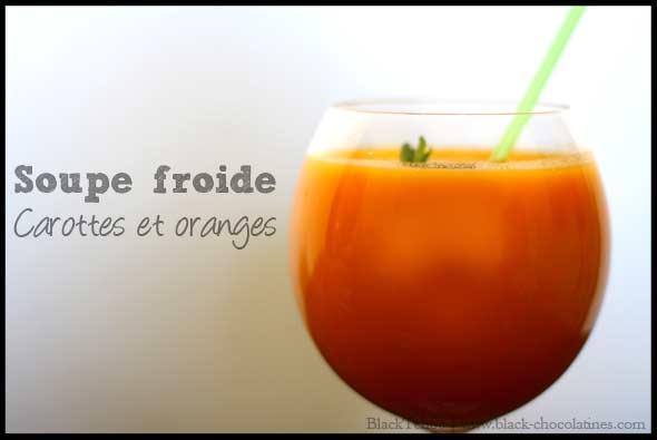 soupe froide carottes et oranges sri lankaise