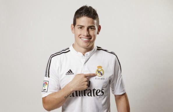 James Rodriguez rasmi Sebagai Pemain Real Madrid