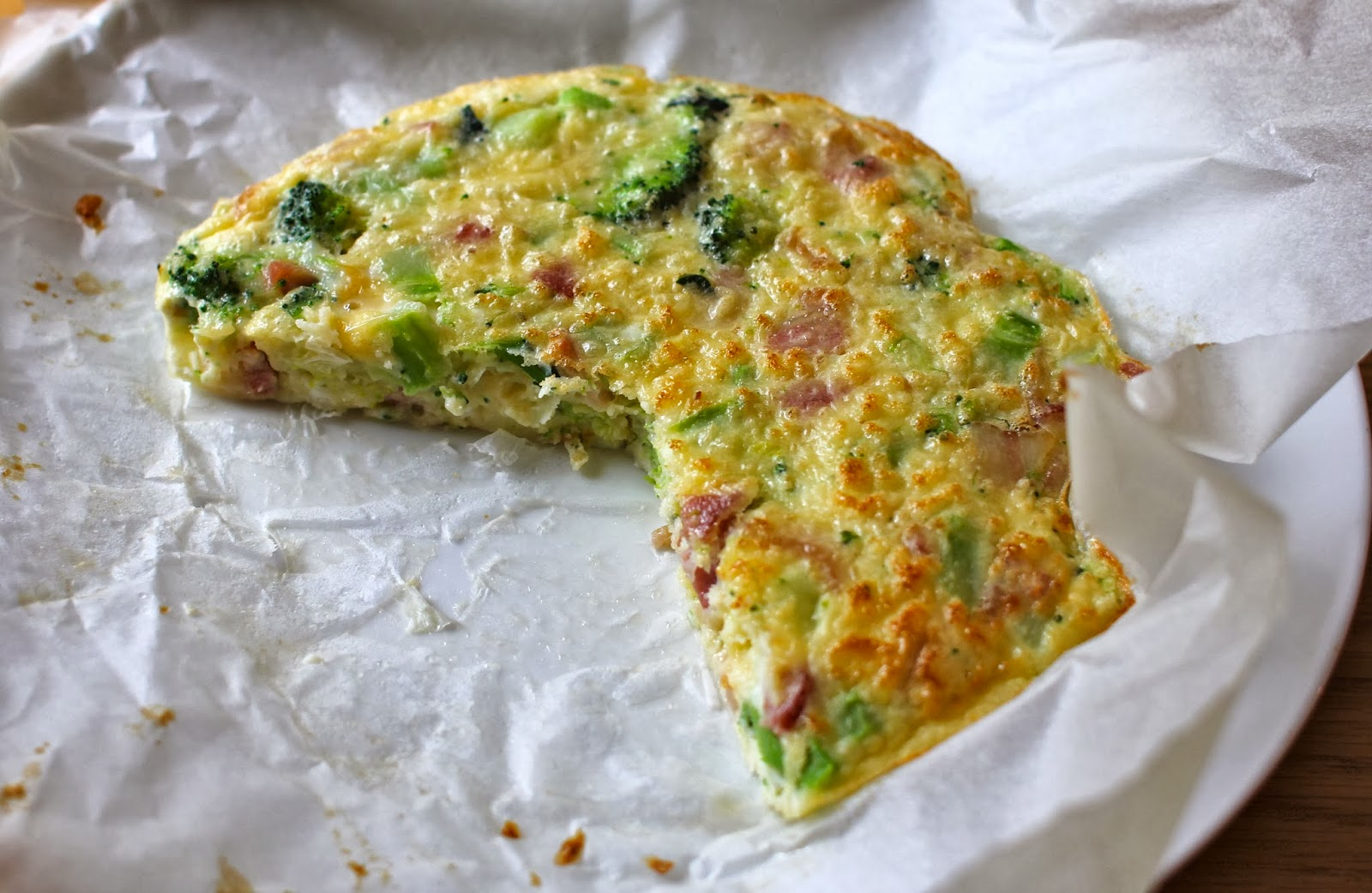 Frittata With Baby Broccoli And Cheddar Recipe — Dishmaps