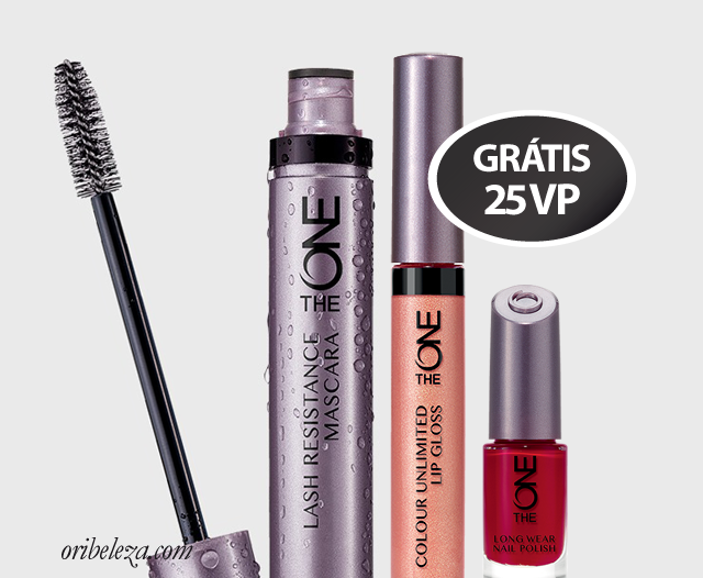 Conjunto de Maquilhagem The ONE da Oriflame