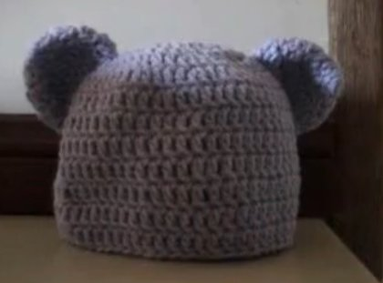 Crochet Baby Hat Bear Ears Pattern : NEW WEBSITE !! www.bobwilson123.org: Crochet Baby to Adult ...