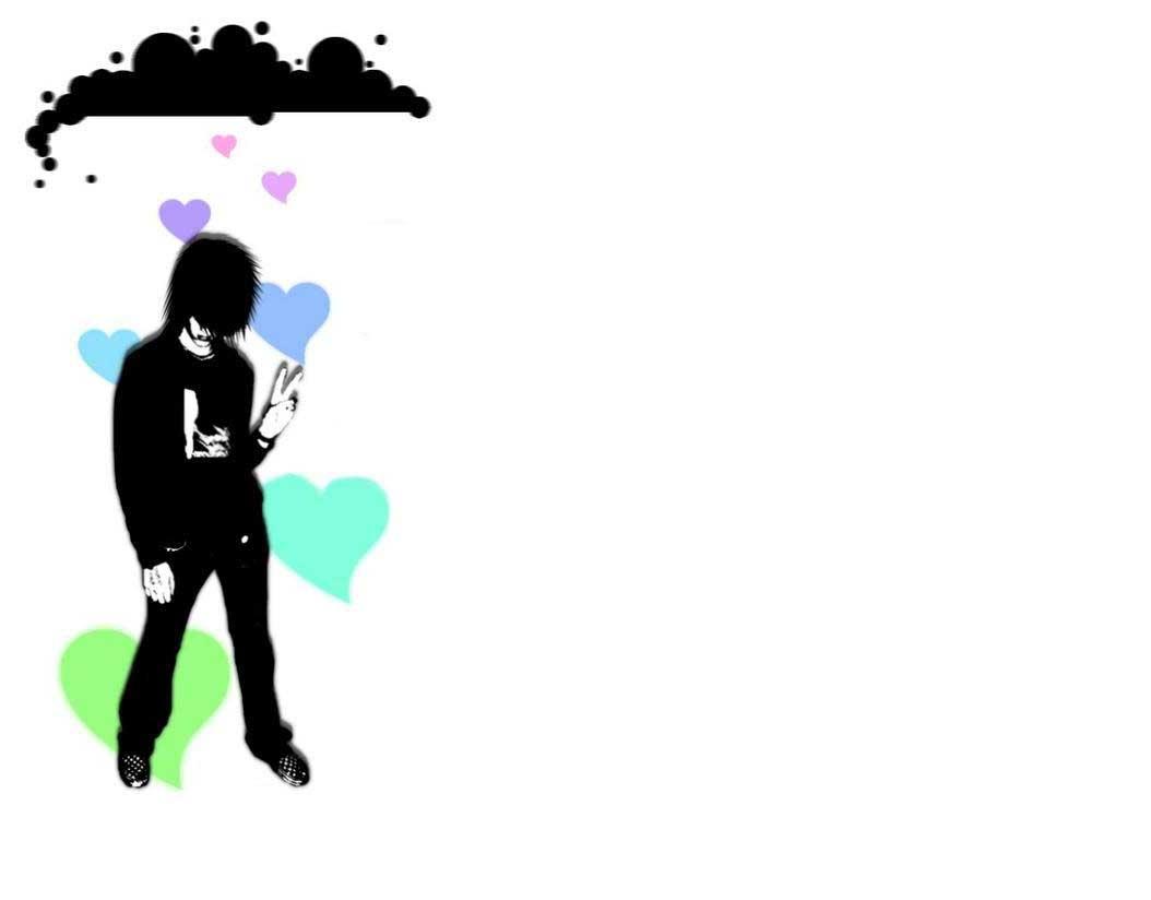 Wallpaper Love Emo Download Gratis