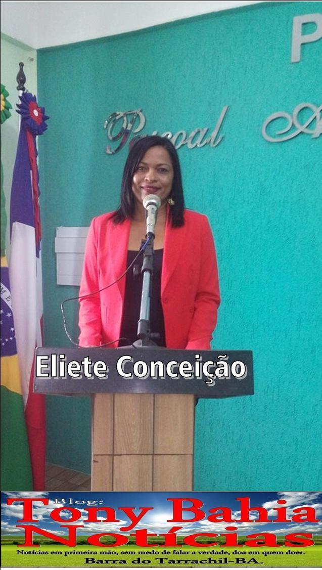 Vereadora Eliete Conceição