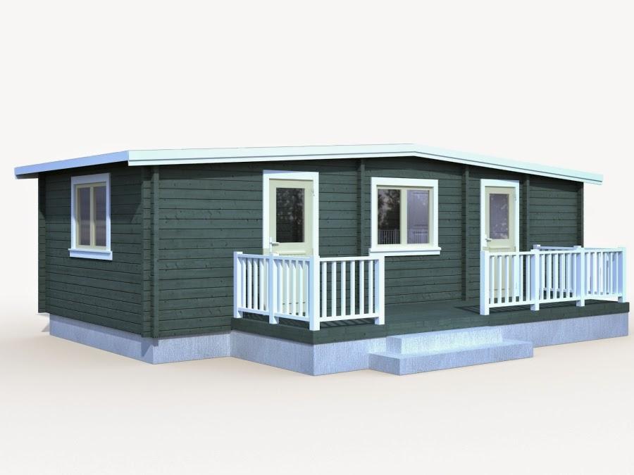 Casas de madera baratas bungalow molly1 de madera n rdica for Casetas jardin resina baratas