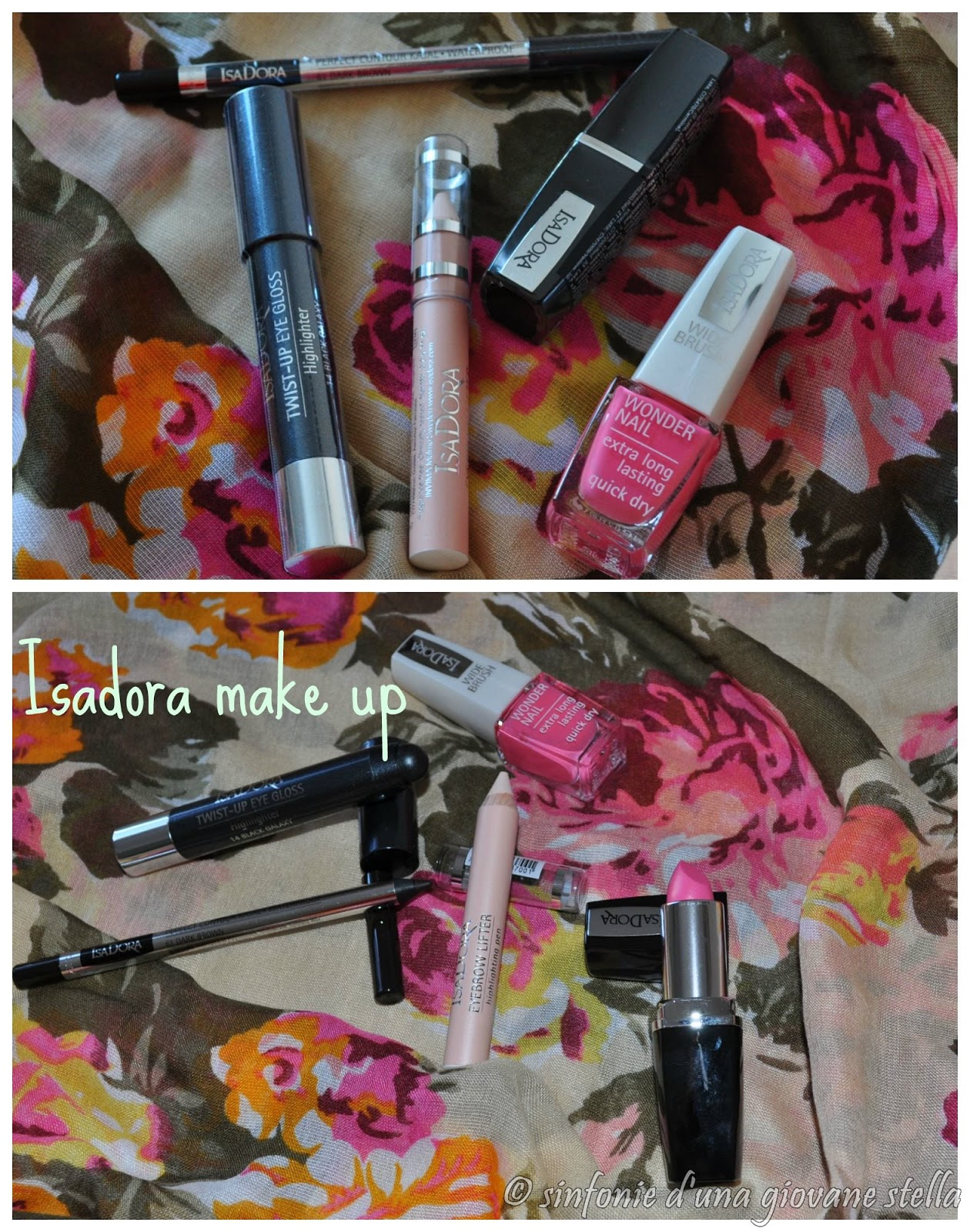 vittorie & haul ● isadora make up vincita contest