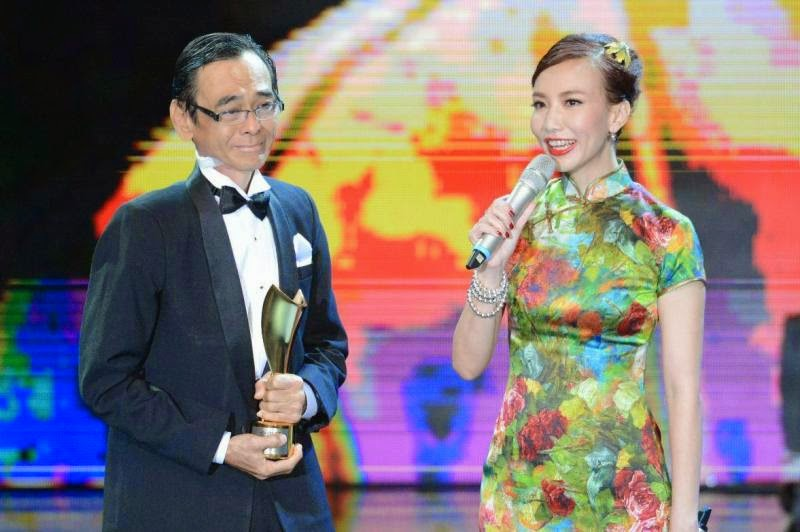 Lifetime Achievement Award, Phua Chee Kian, Golden Awards 2014, The Descemdant, Debbie Goh, Frederick Lee, Steve Yap, Best Actor, Best Actress, Live Show, Live Streaming,