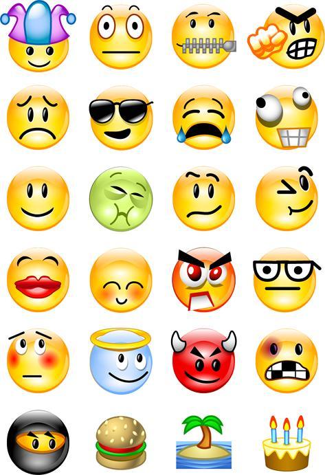 Generación OPin: Emoticones para comentarios