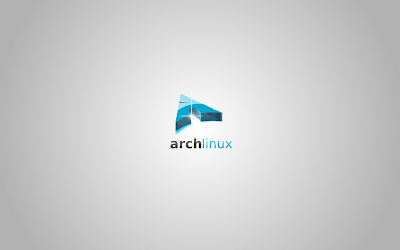 Arch Linux Grey wallpaper