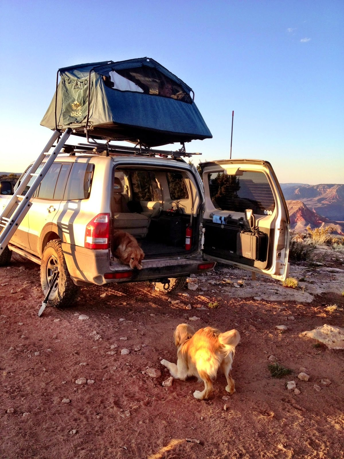 The Oasis II was made in France by Trekking and had a limited distribution in the States primarily through Rogue River Trading Company which appears to be ... & Oasis II Roof-top Tent