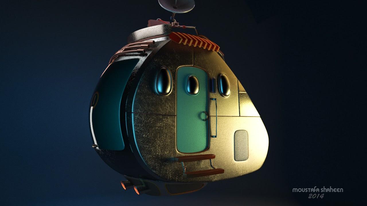 flying car  3d art