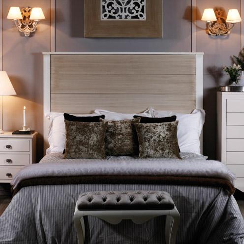 Cabezales cama tapizados cool kina cabecero gris oscuro - Cabezales de tela ...