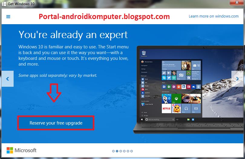 Klik icon tersebut dan kamu akan mendapatkan halaman reserve, klik ...