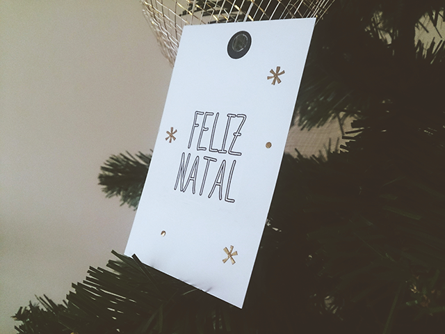 Etiqueta Feliz Natal
