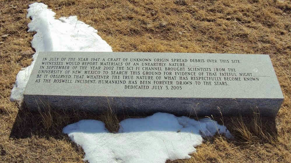 UFO crash site at Roswell