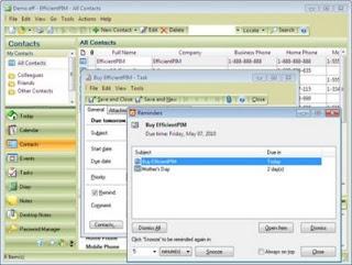 Efficient Man's Organizer Pro 3.10 Build 324 ML