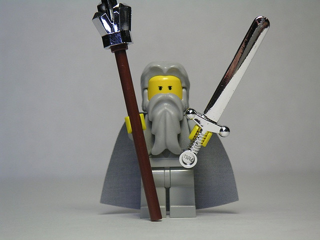 U Beard Lego Gandalf from Lord...
