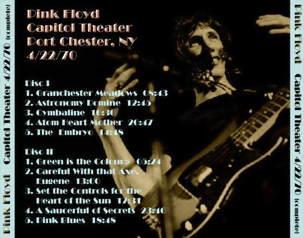 T.U.B.E.: Pink Floyd - 1970-04-22 - Port Chester, NY (AUD/FLAC)