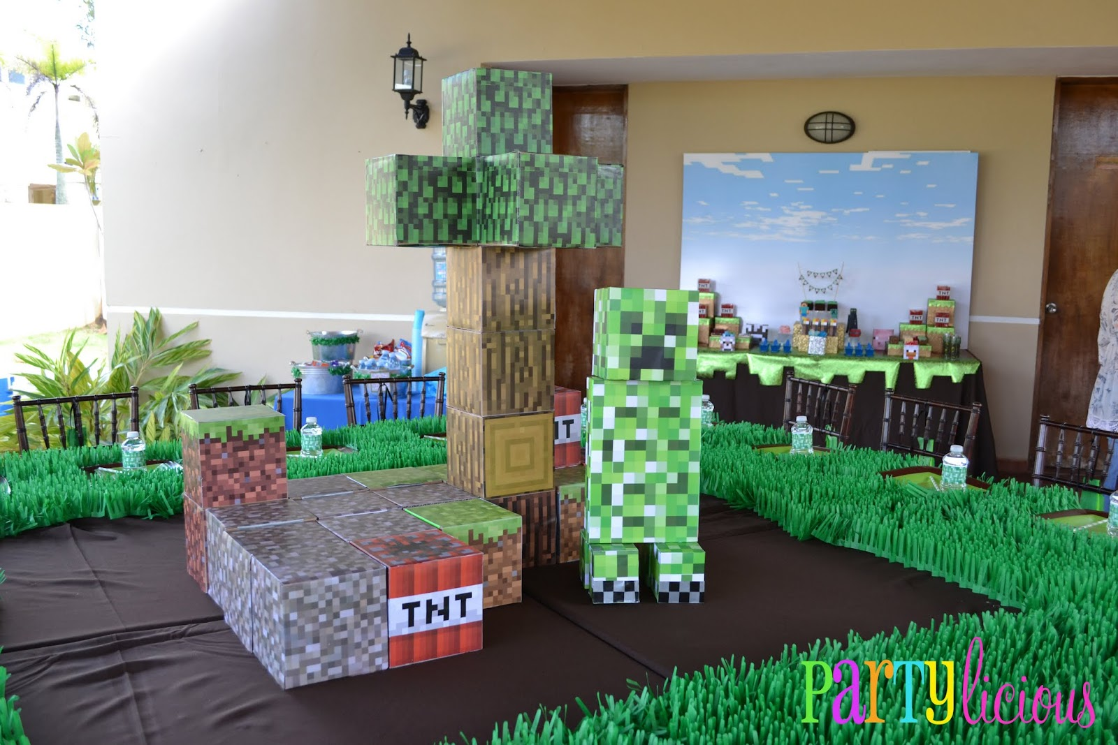 Minecraft party all for the boys for All decoration games
