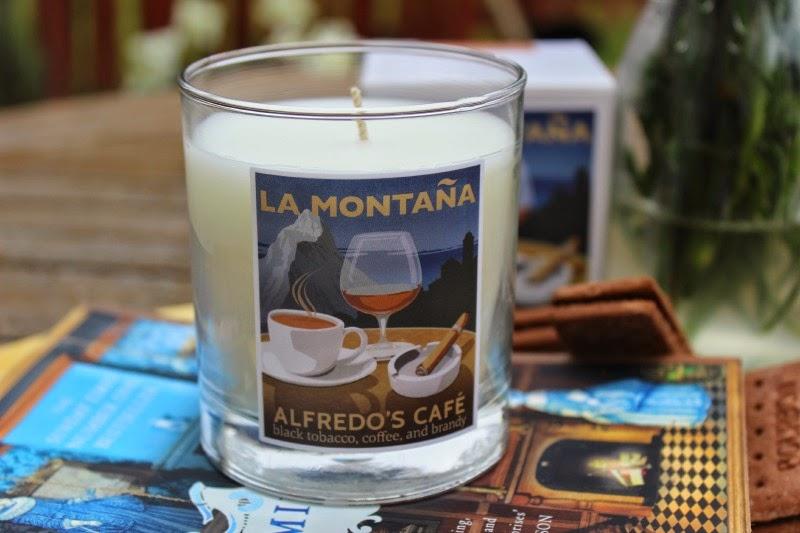 La Montana Alfredo's Cafe Candle
