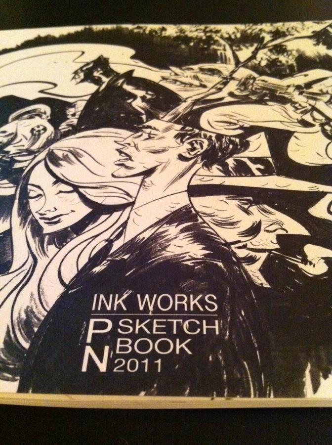 Sketchbook for Sale