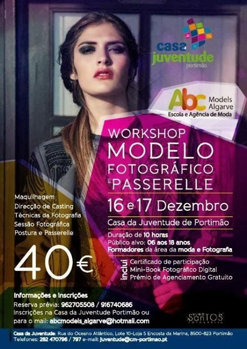 Workshop: Modelo fotográfico e Passerelle – Portimão