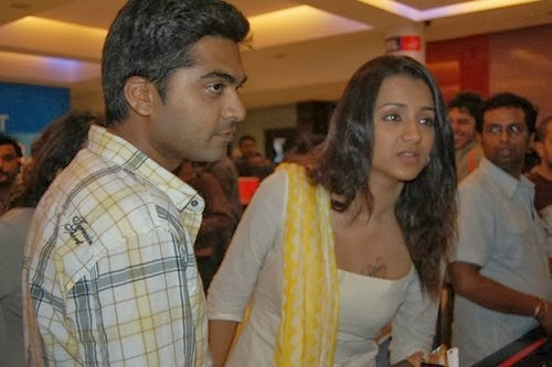 Trisha photos in saree in vtv