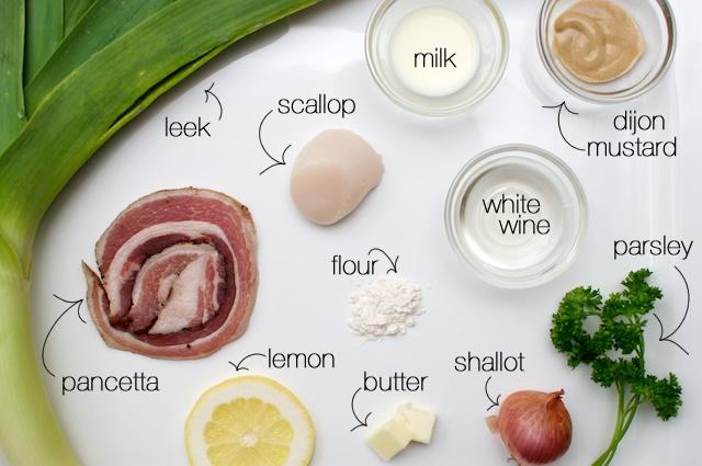 Scallops On Creamy Leeks Recipes — Dishmaps