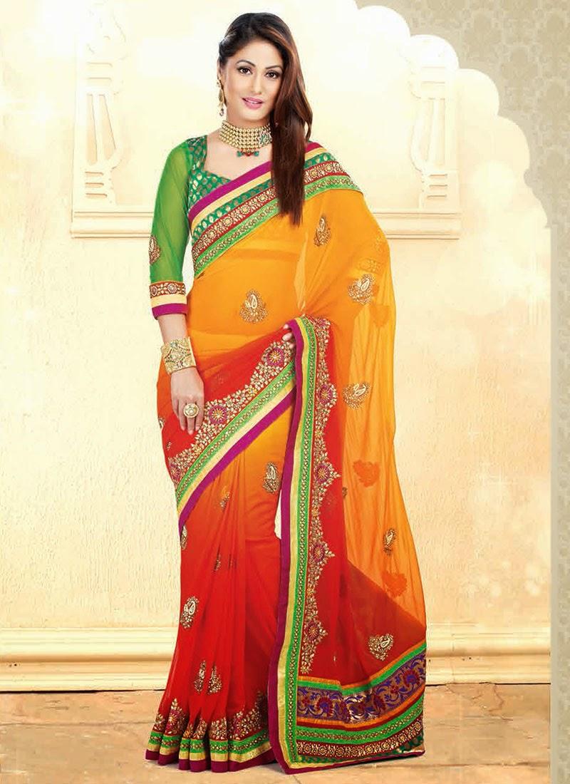 Akshara stylish saree collection