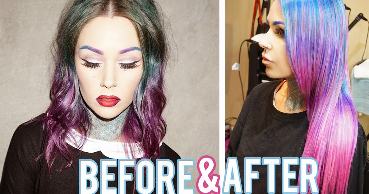 hair transformation from dark to light kristen leanne style
