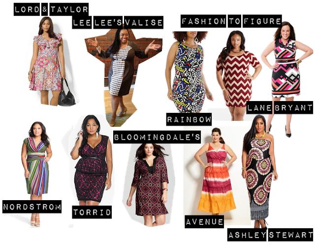 selezione dai negozi plus size americani