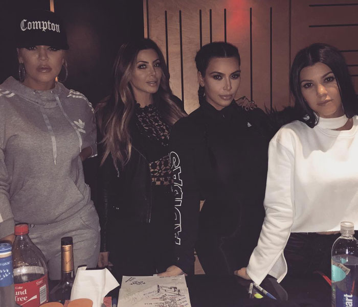Power Sisters: Kim Kardashian Shares Picture Of Herself With Sisters Kloe And Kourtney