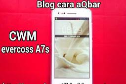 cara install cwm evercoss A7s