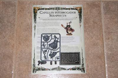 Warhammer 40000 Venganza Oscura matriz del capellán de edición limitada