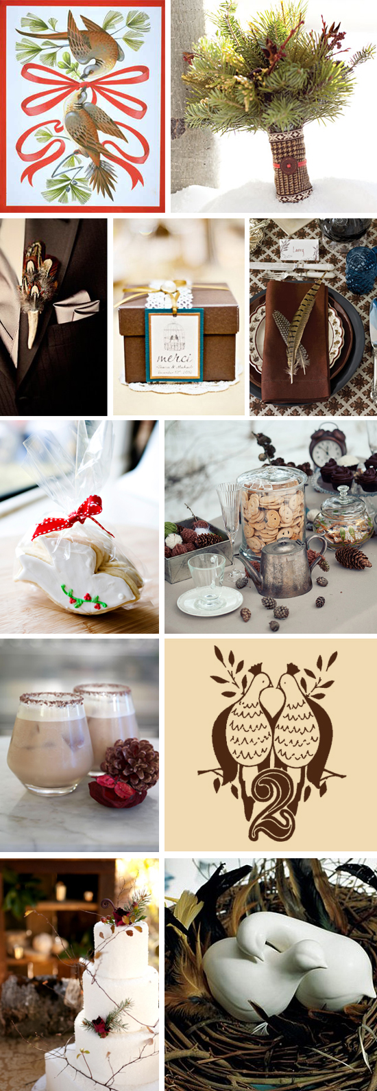 Two Turtle Doves Inspiration Board
