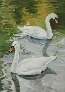 """Swan Brocade ll"""