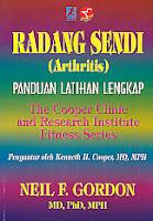 toko buku rahma: buku RADANG SENDI (ARTHRITIS) PANDUAN LATIHAN LENGKAP, pengarang neil f. gordon, penerbit rajawali sport