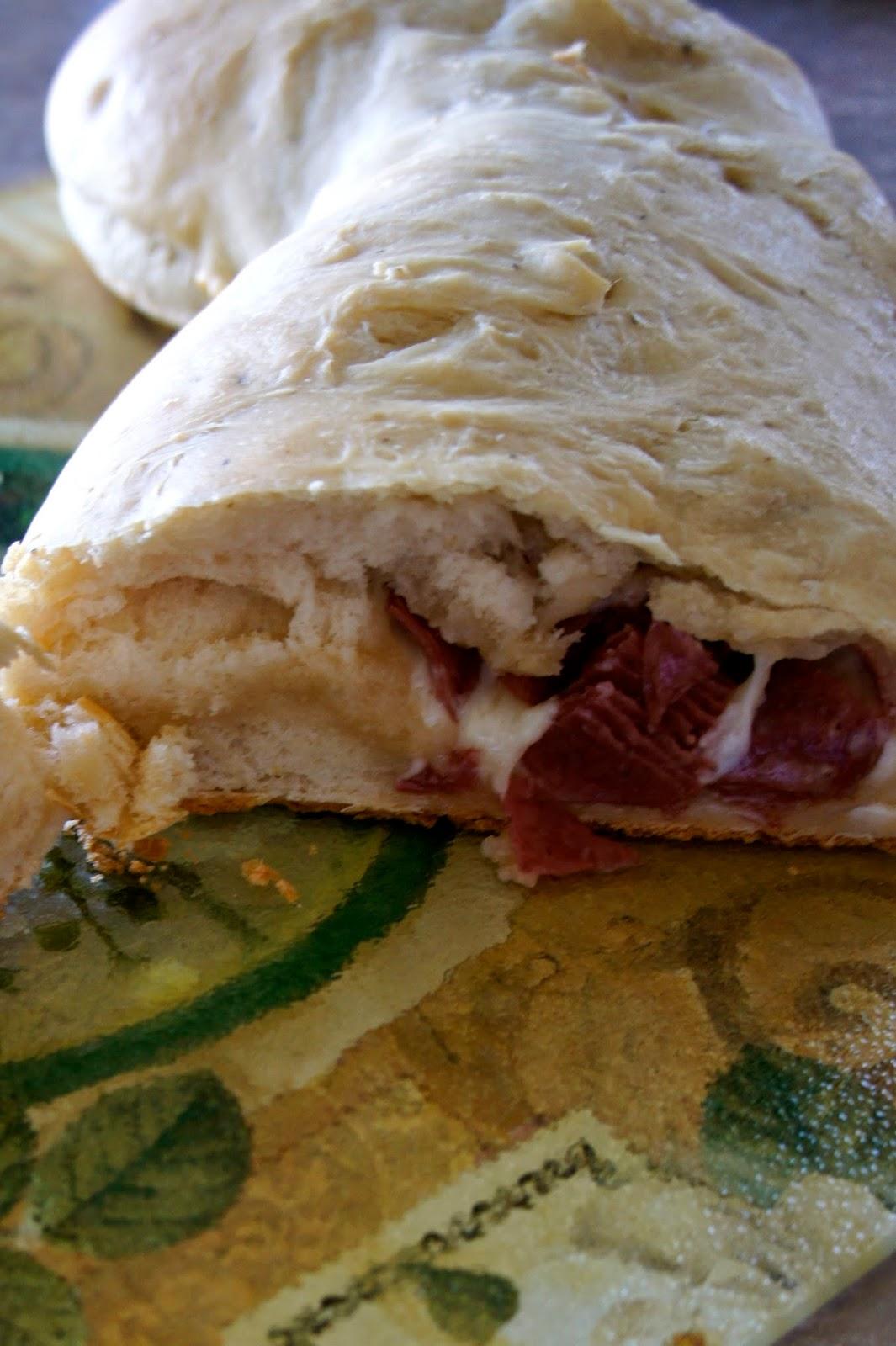 Stromboli: Savory Sweet and Satisfying