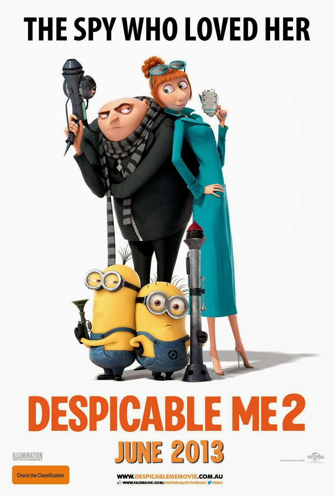 Watch Despicable Me 2 (2013) In Tamil Dubbed Original BluRay Rip Full Movie Watch Online For Free Download