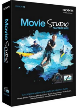 Sony Movie Studio Platinum 12.0.755 (x86/64) - Eng