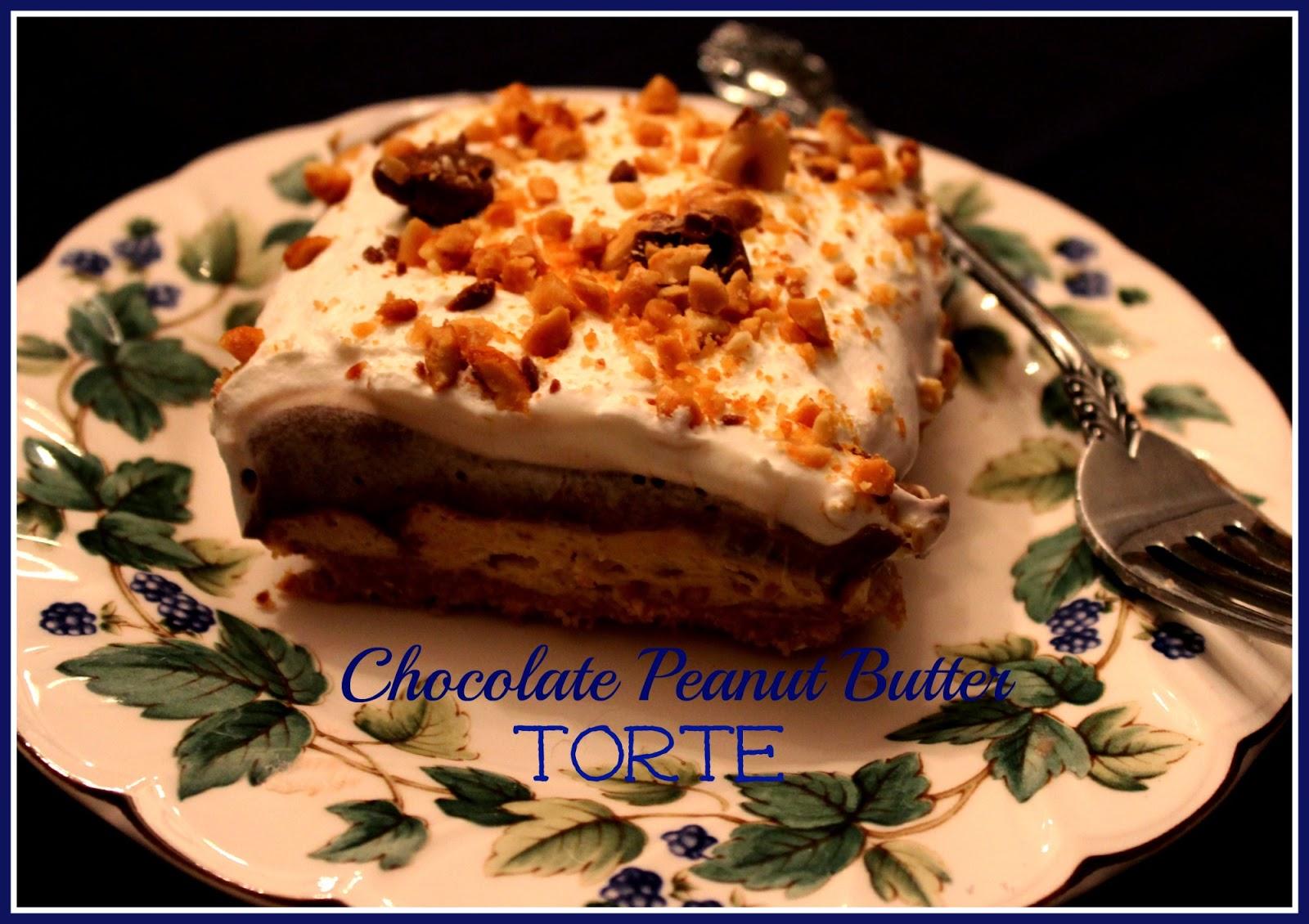 Sweet Tea and Cornbread: Chocolate Peanut Butter Torte!