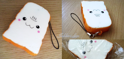 Kawaii Box - Kawaii Toast Squishy Charm