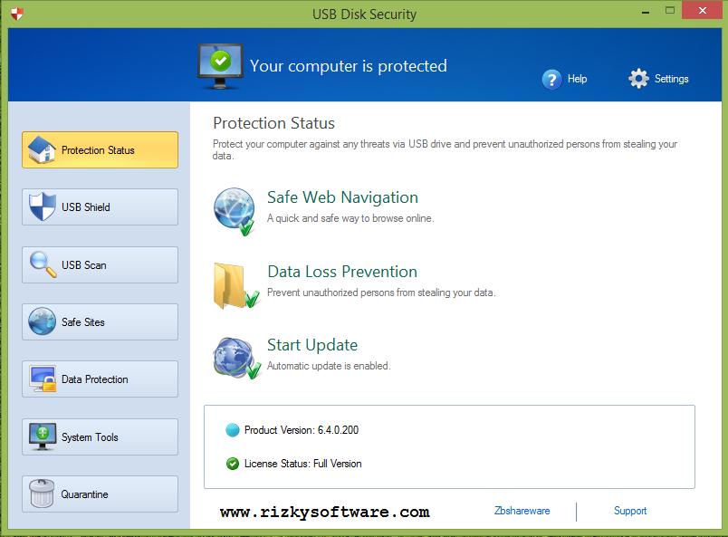 Download Software USB Disk Security 6.4 Gratis Terbaru