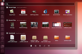 ubuntu12.04 home lens Ubuntu 12.04 LTS Precise Pangolin Released, Lets Download and Install it