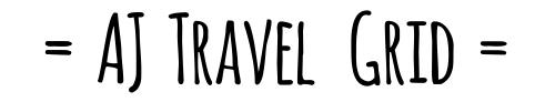 AJ Travel Grid - A小姐的旅遊拼圖
