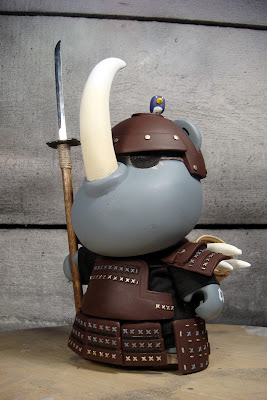 Samurai Hick-san: The Collector Custom Vinyl Figure by Huck Gee