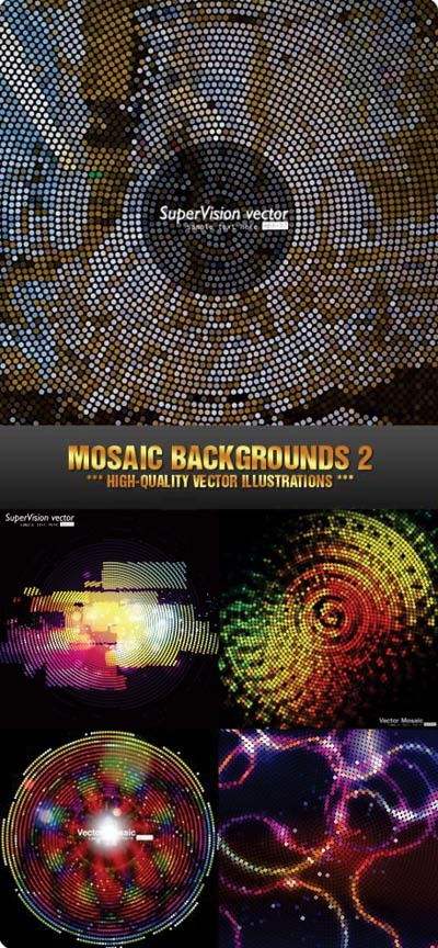 Mosaic Background 2 -Stock Vectors