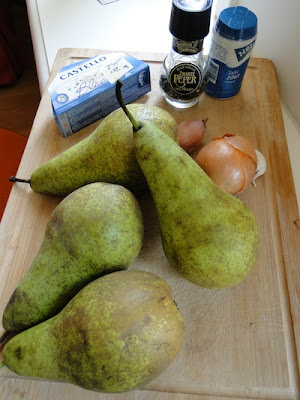 Pear Soup Ingredients