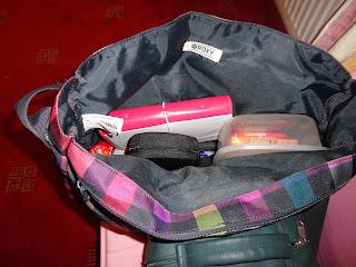 Domino Filofax in Handbag