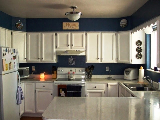 ideas for painting a kitchen wall