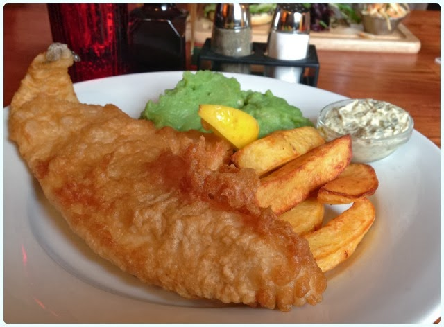 The Farmers Arms, Bolton - Fish and Chips